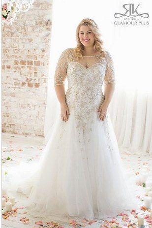Mariage - 31 Jaw-Dropping Plus-Size Wedding Dresses