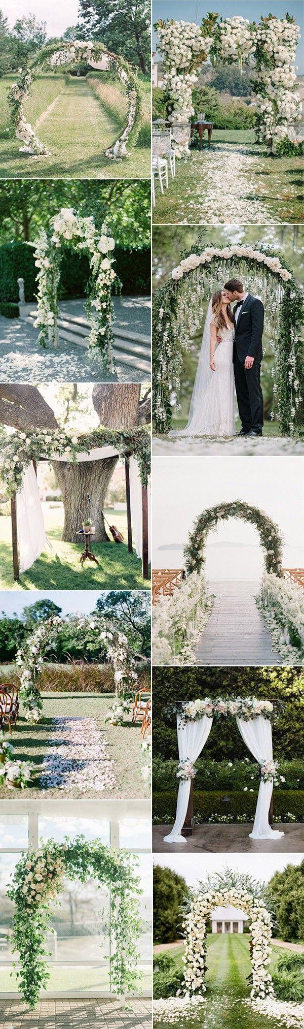 20 Prettiest Floral Wedding Arch Decoration Ideas 2804504