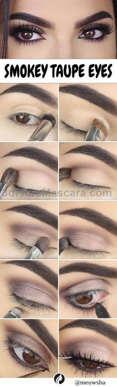 Свадьба - Smokey Taupe Eyes