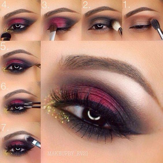 Свадьба - Rose Pink Eyeshadow