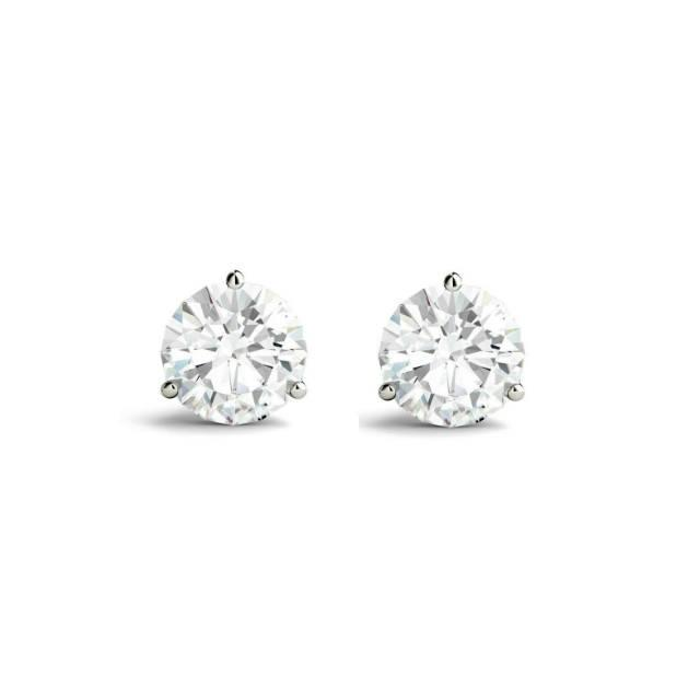 Свадьба - 0.80 Carat TW Round Diamond Martini Stud Earrings, GIA Diamonds, Anniversary Gifts for Women, Fine Jewelry Gifts, Custom Jewelers, Christmas - $2580.00 USD
