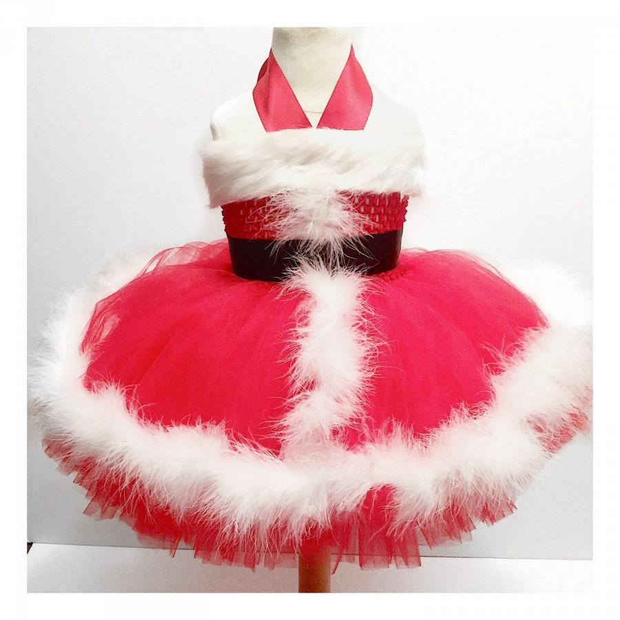 1f843f415f6f7 SANTA BABY dress, newborns/infants/toddlers/girls for holidays,  photography, christmas dress