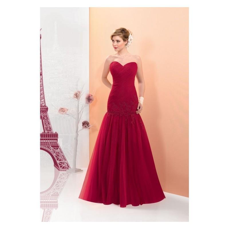 زفاف - Miss Paris MP163-16 -  Designer Wedding Dresses