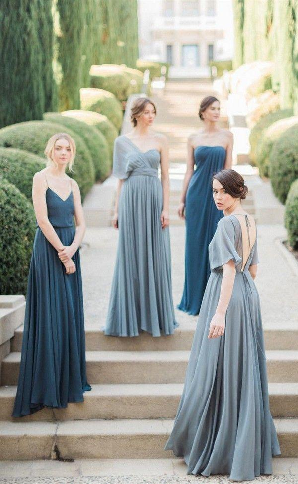 Trending Top 10 Mismatched Bridesmaid Dresses Inspiration