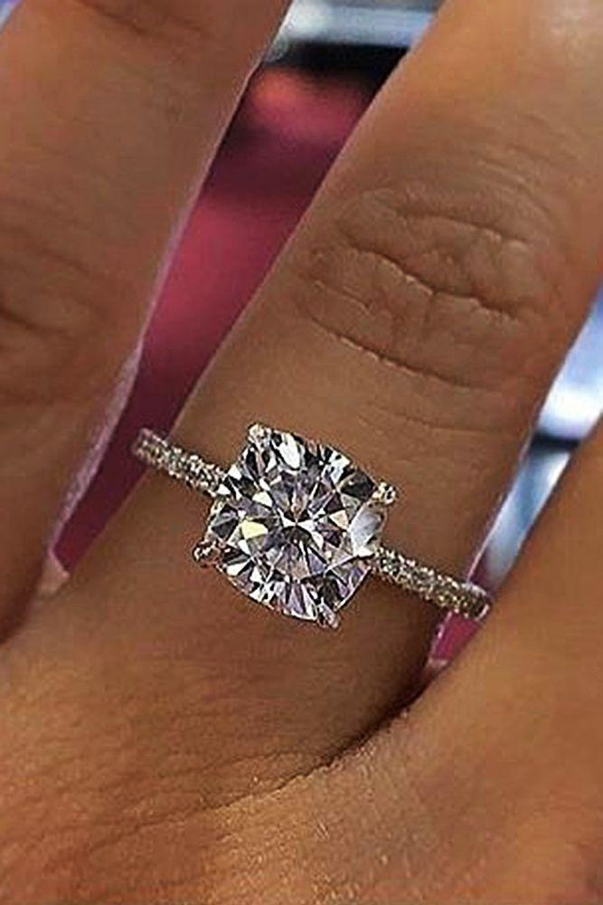 36 Simple Engagement Rings For Girls Who Love Classic 2805600