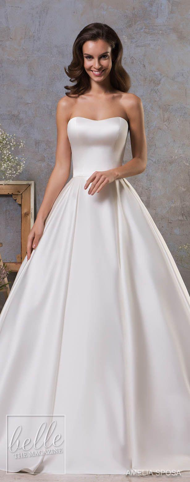 Wedding - Amelia Sposa Fall 2018 Wedding Dresses