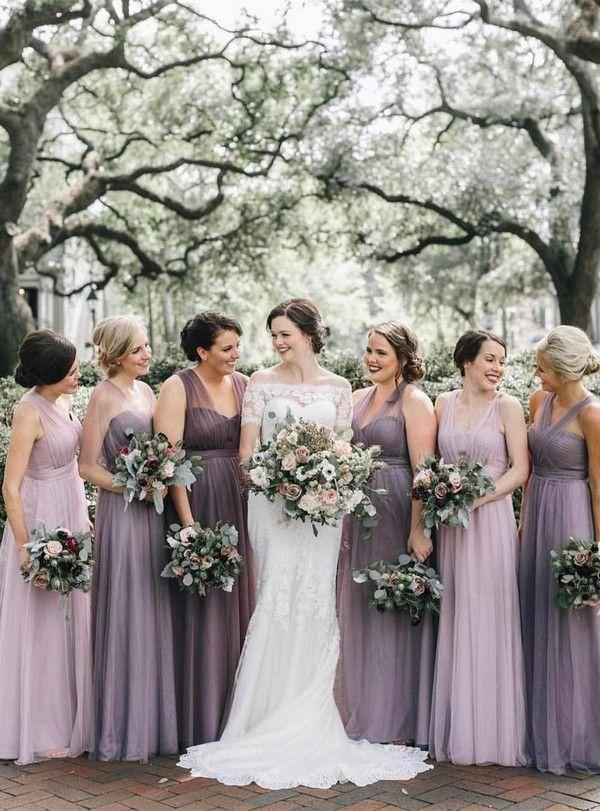 Свадьба - Trending-Top 10 Mismatched Bridesmaid Dresses Inspiration For 2018