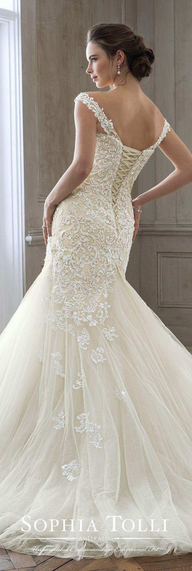 Hochzeit - Sophia Tolli Wedding Gowns - Y11884 Eleni