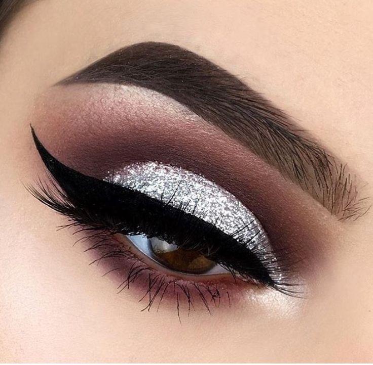Свадьба - Glittery Eyelid