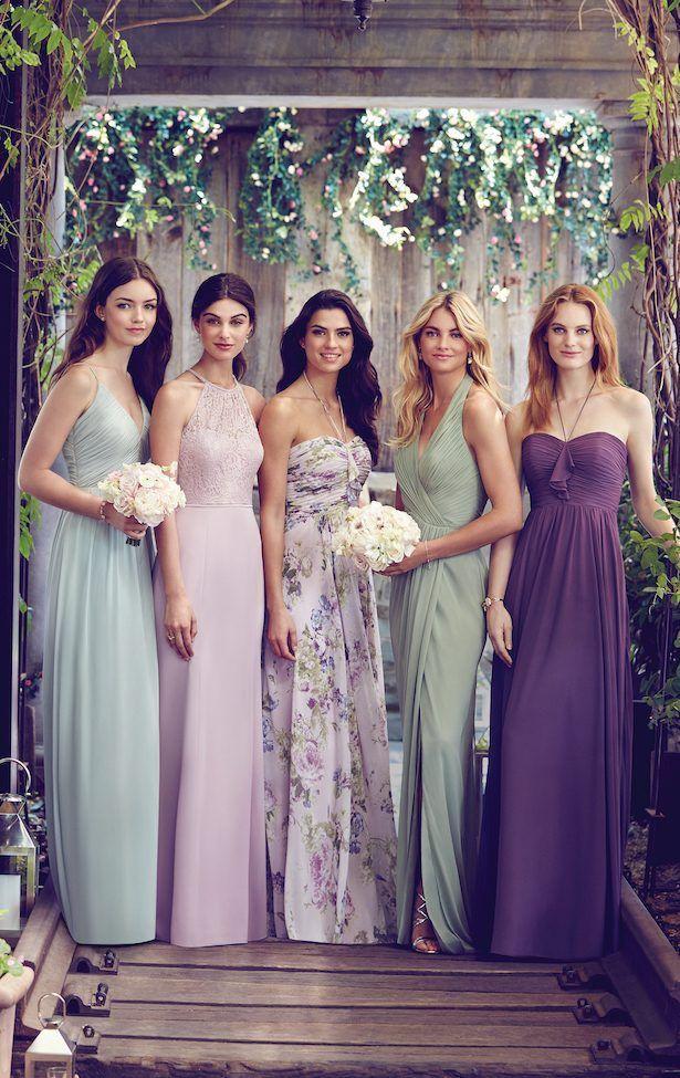 Wedding - Mismatched Bridesmaids