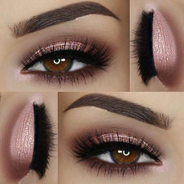 Свадьба - Pink Smokey Eyeshadow