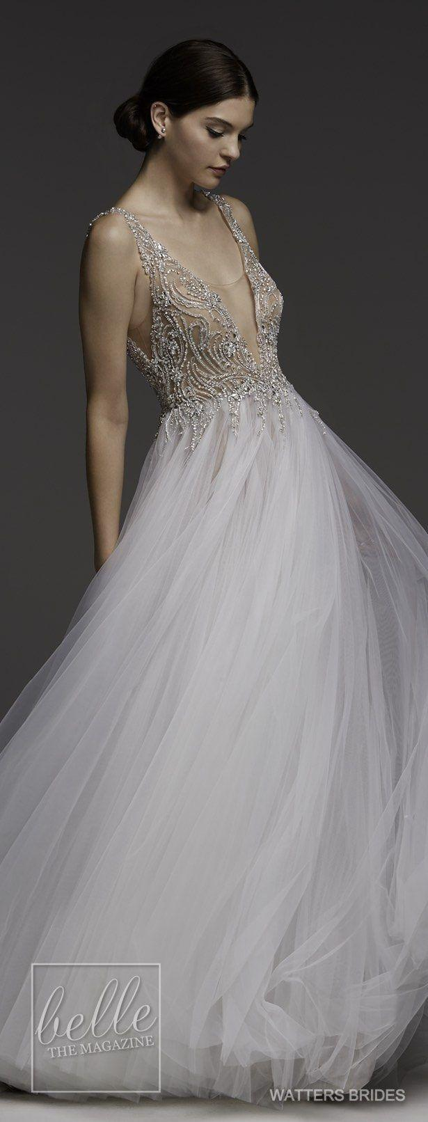 Wedding - Wedding Dresses By Watters Brides Spring 2018