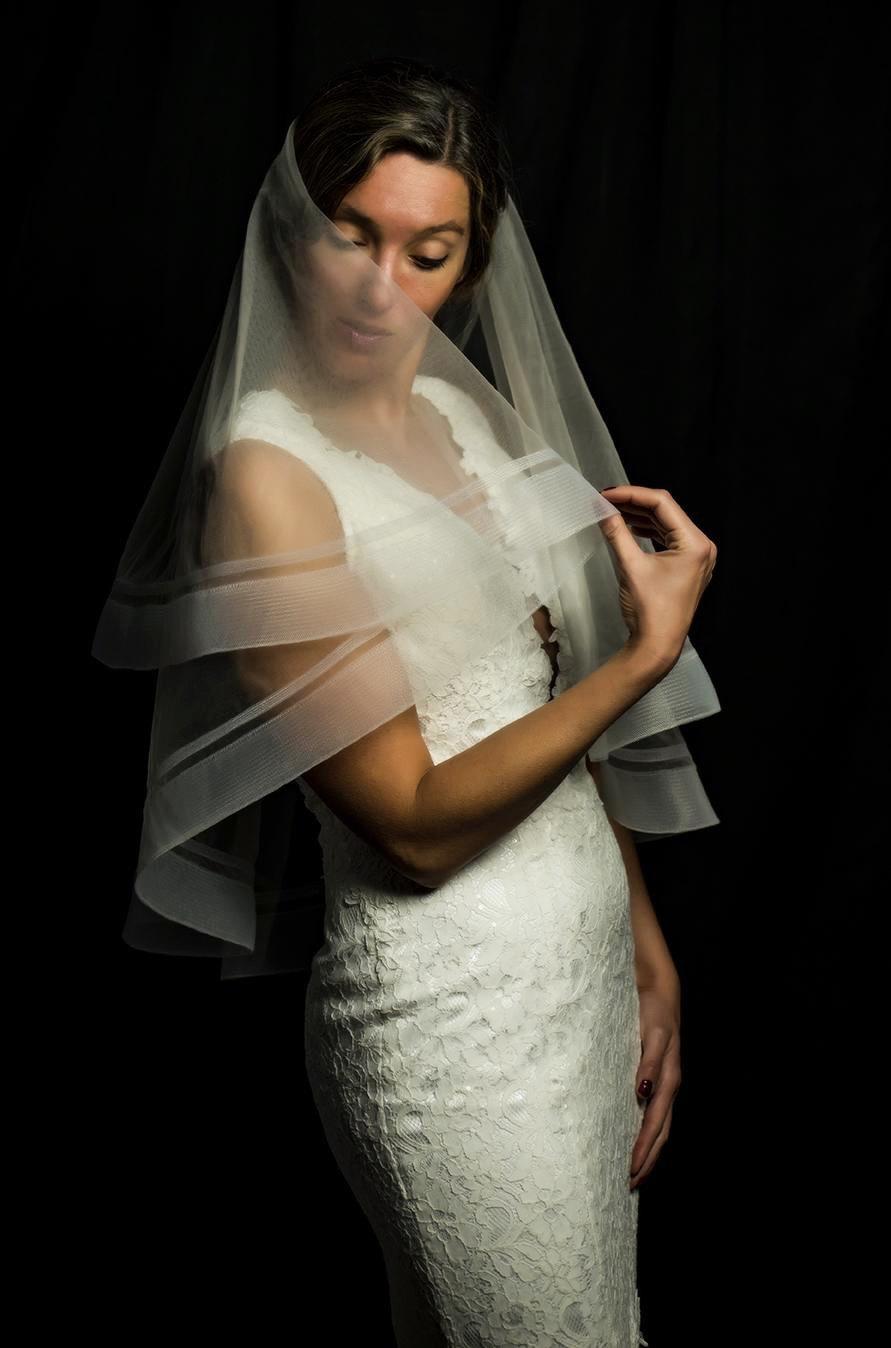 زفاف - Horsehair Trim Veil, Double Horsehair Trim Wedding Veils, Cathedral Horsehair Veil, Edge Veil, Blusher Veil, Veil, Veil Handmade in the USA