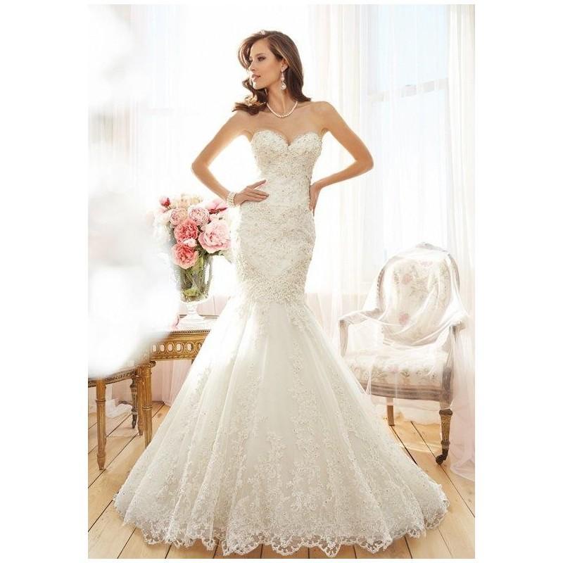 Boda - Sophia Tolli Y11564 Tawny Wedding Dress - The Knot - Formal Bridesmaid Dresses 2017