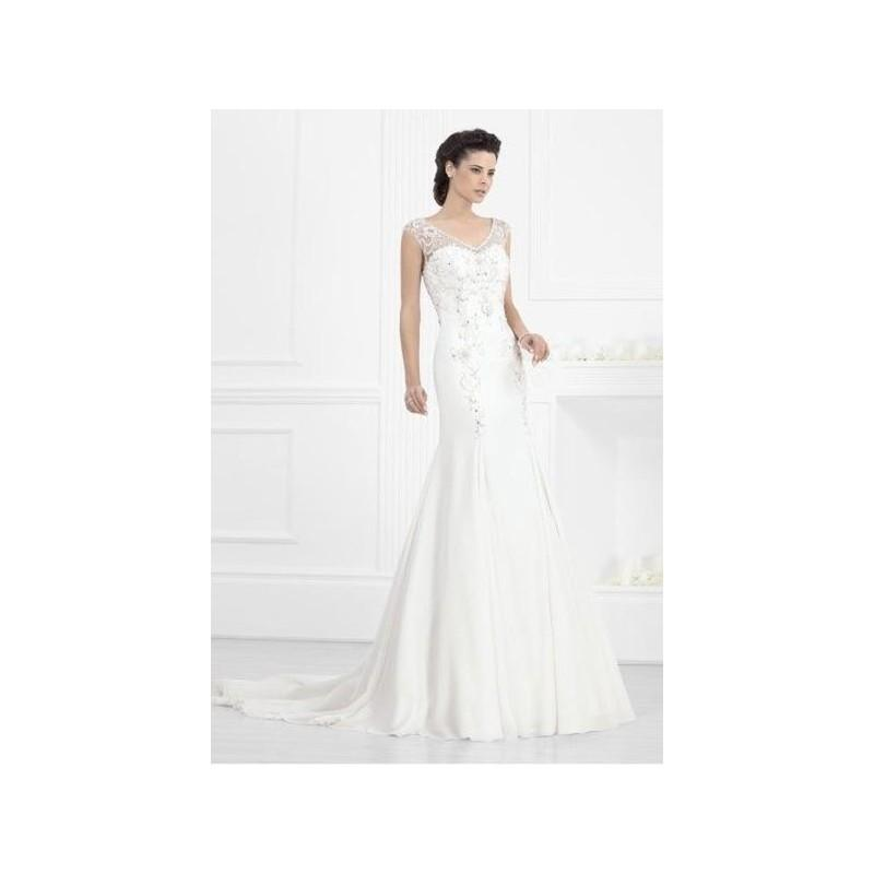 vestido de novia de fran rivera alta costura modelo frn509 - 2015