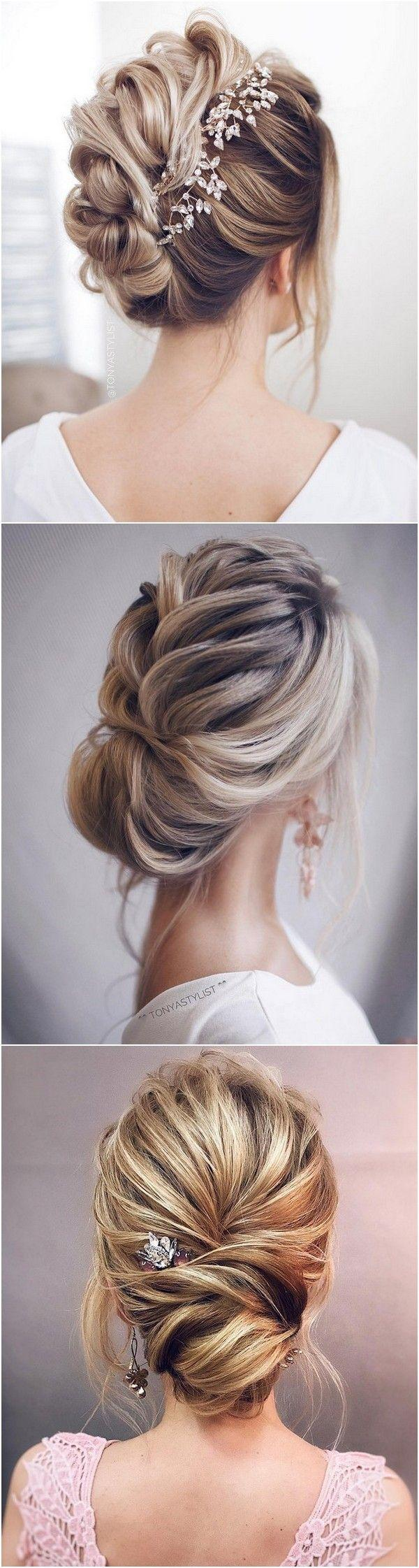 12 So Pretty Updo Wedding Hairstyles From Tonyapushkareva 2807350