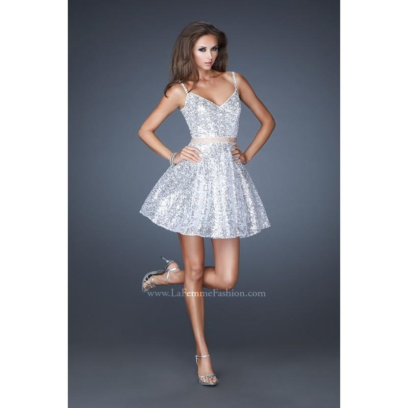 La Femme 18941 Short Sequin Prom Dress - Crazy Sale Bridal Dresses ...