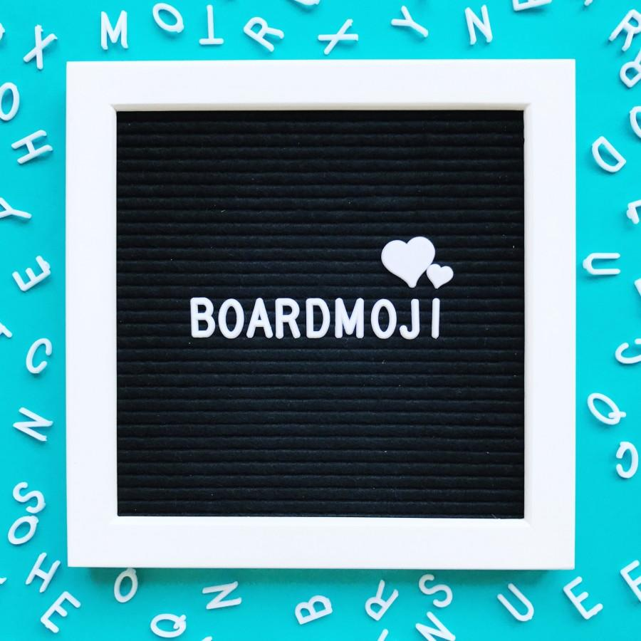 letter board symbols incl hashtags hearts stars music notes female and male signs teardrops flower symbol