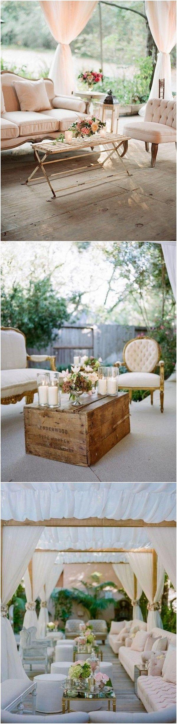 Mariage - 20 Creative Wedding Reception Lounge Area Ideas - Page 2 Of 3