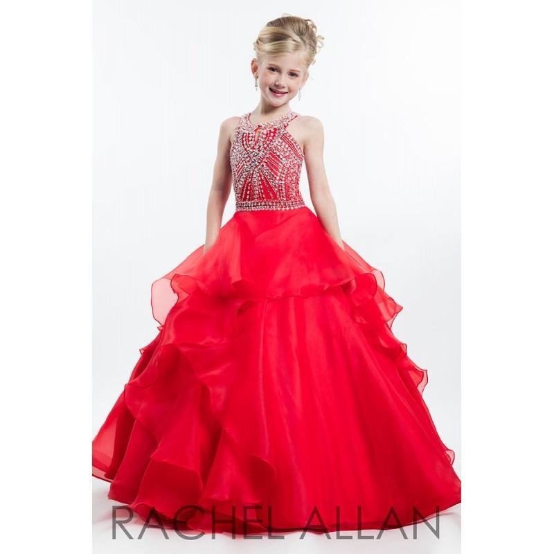 Wedding - Red Rachel Allan Perfect Angels 1641 - Brand Wedding Store Online