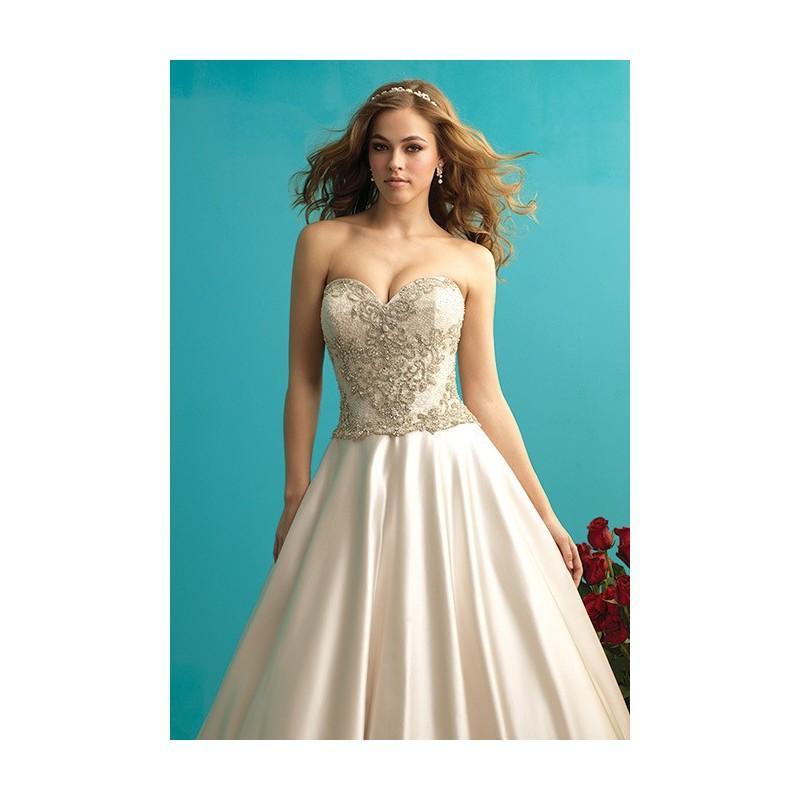 Hochzeit - Allure Bridals - 9273 - Stunning Cheap Wedding Dresses