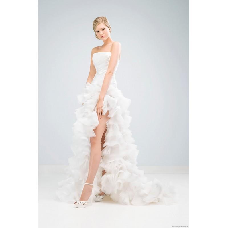 Wedding - Delsa D6504 Delsa Wedding Dresses Delsa Couture - Rosy Bridesmaid Dresses