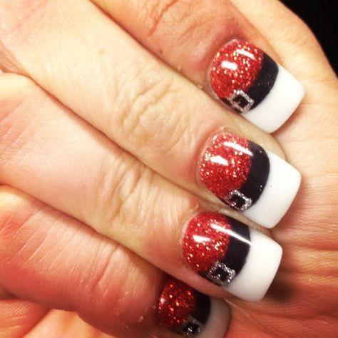 Wedding - 8 Creative Christmas Nail Designs