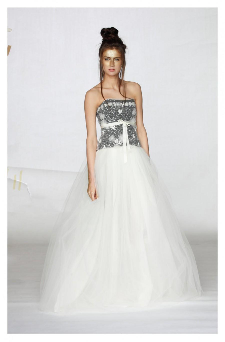 Wedding - Wedding Skirt, Bridal Separates, Tulle Skirt, Bridal Skirt, Wedding Tulle Skirt, Long Skirt, Womens Wedding Clothing, Wedding Maxi Skirt