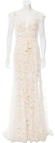Mariage - Monique Lhuillier Lace Wedding Gown