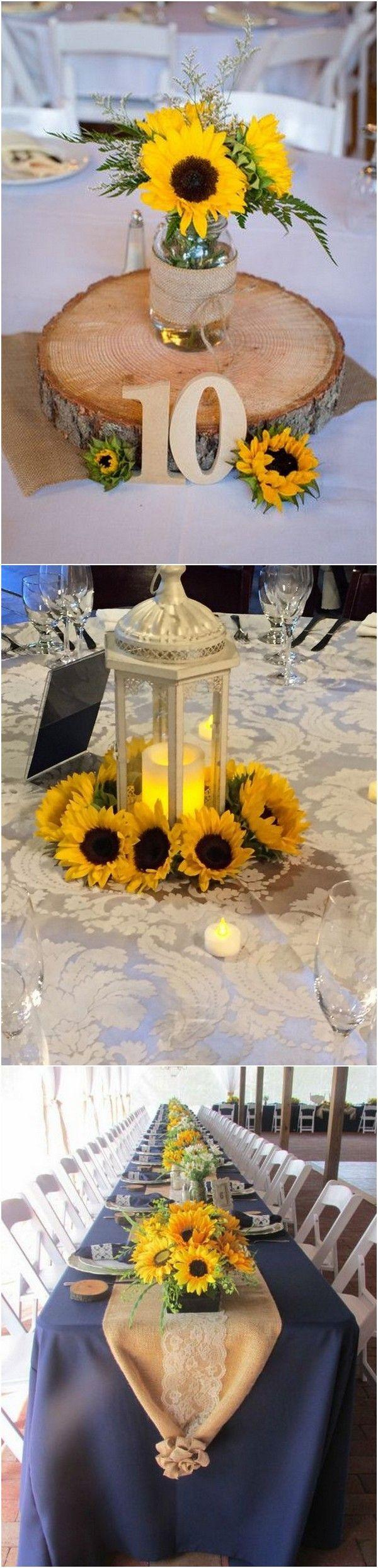 18 Cheerful Sunflower Wedding Centerpiece Ideas Page 2 Of 2