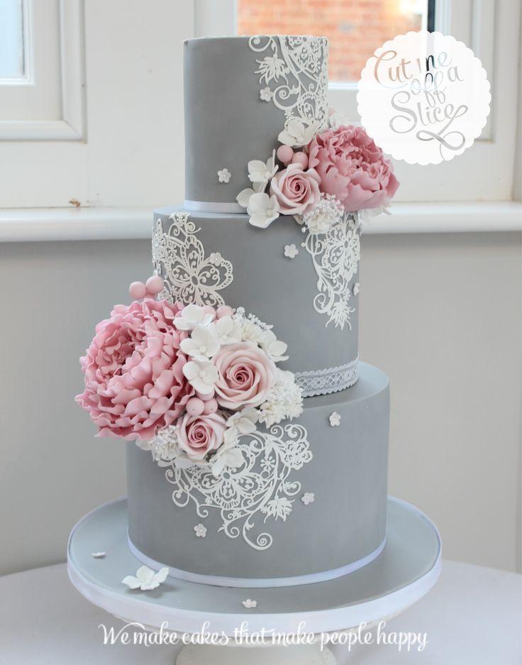 زفاف - Gray Cake
