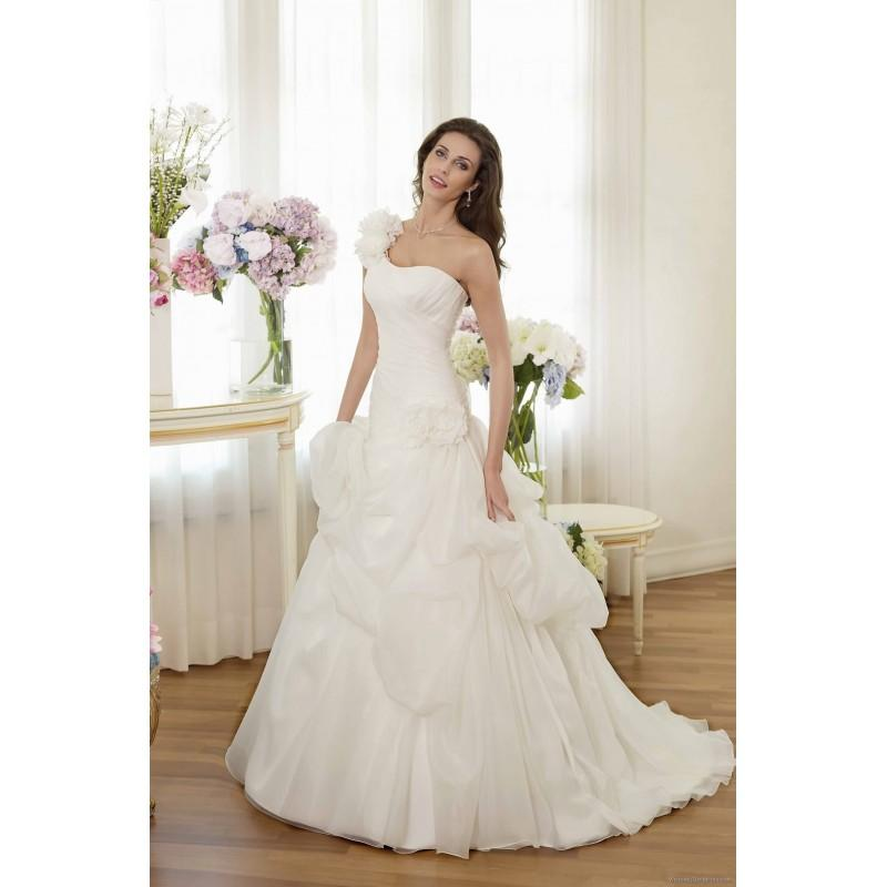 Mariage - Delsa P7314 Delsa Wedding Dresses Perle di Delsa - Rosy Bridesmaid Dresses