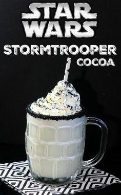 Wedding - Star Wars Storm Trooper White Chocolate Cocoa