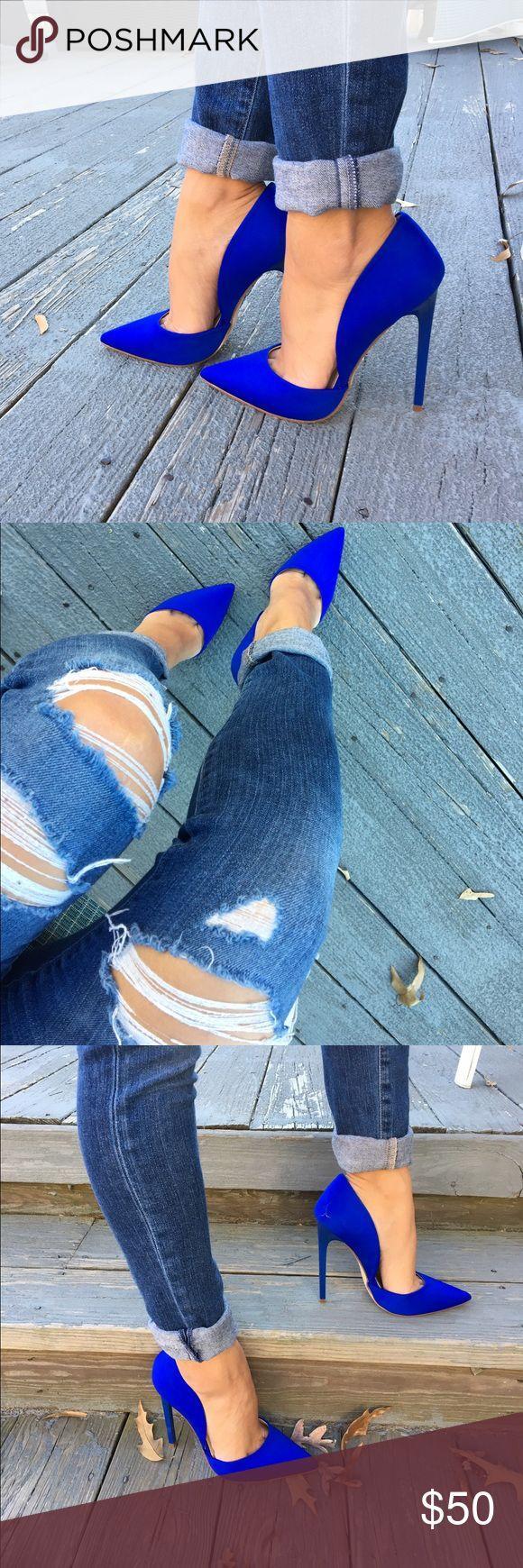 Mariage - Electric Royal Blue Heels