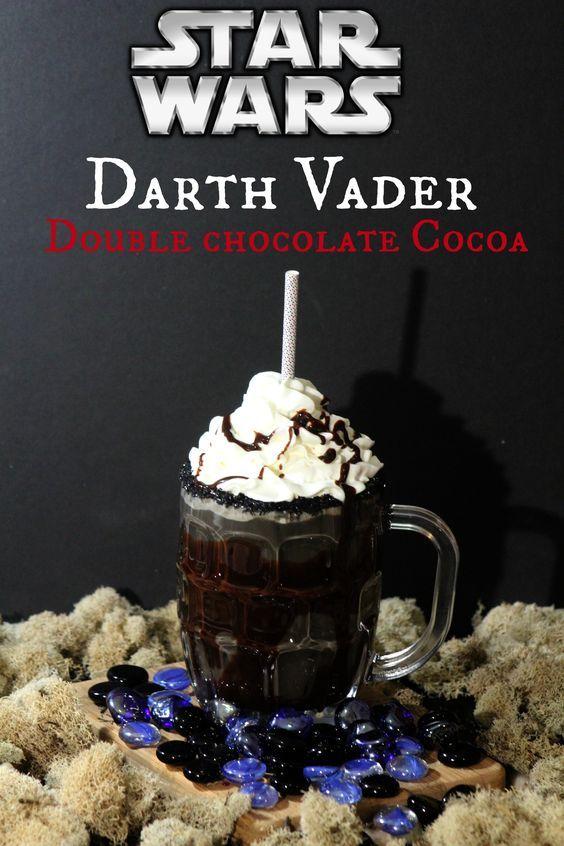 Wedding - Star Wars Fans! Darth Vader Double Chocolate Cocoa Recipe #TheForceAwakens