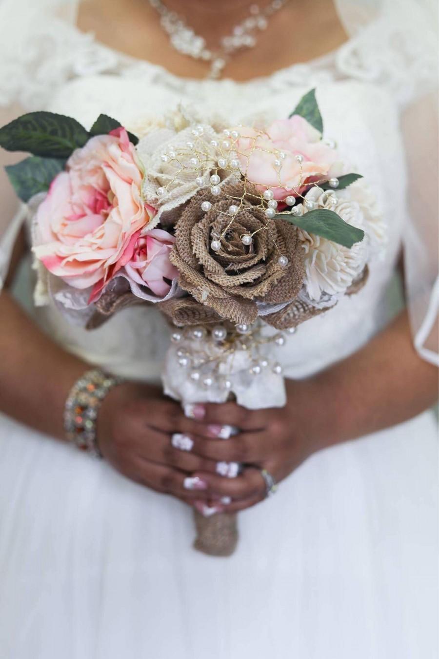 Wedding - Rustic Elegance Bouquet