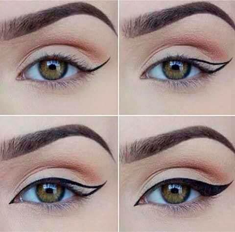 Свадьба - Winged Liner Tutorial