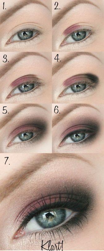 Hochzeit - Blacked Out Pink Eyesahdow