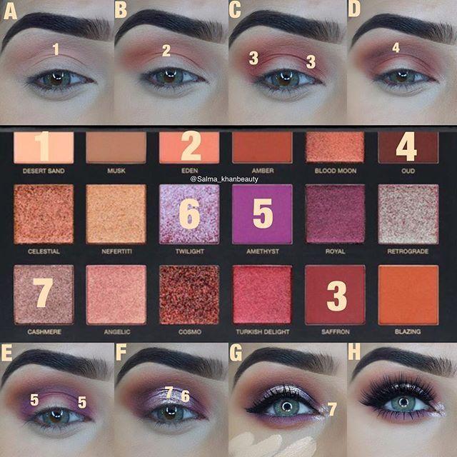 Свадьба - Purple Eyeshadow