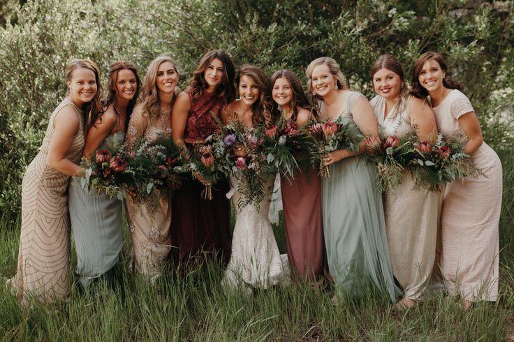 Wedding - Colorado Woodland Wedding With A 1920s Twist