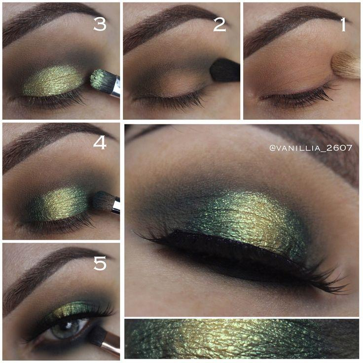 Свадьба - Green Eyeshadow