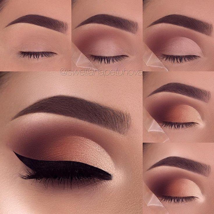 Düğün - Nude Smokey Cut Crease