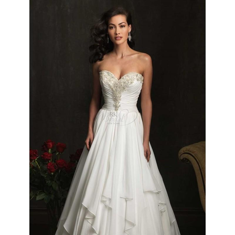 Mariage - Allure Bridal Fall 2013 - Style 9057 - Elegant Wedding Dresses