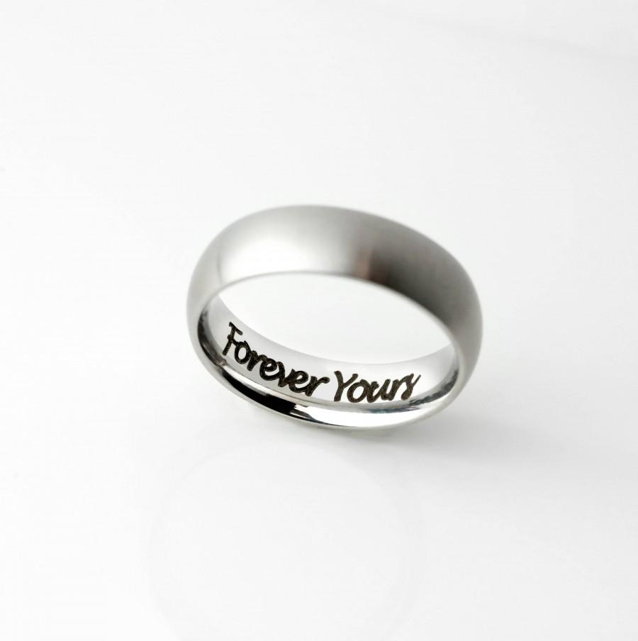 Wedding - Personalized gift for boyfriend gift Mens Ring Mens Promise Ring for him Personalized for Him - RR3