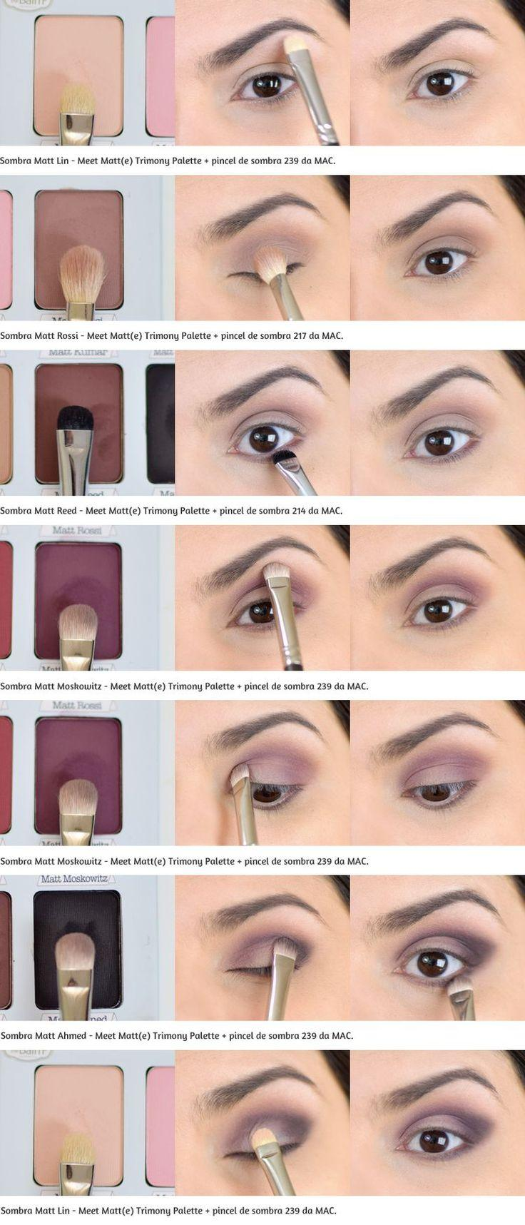 Свадьба - Eyeshadow Brush Guide