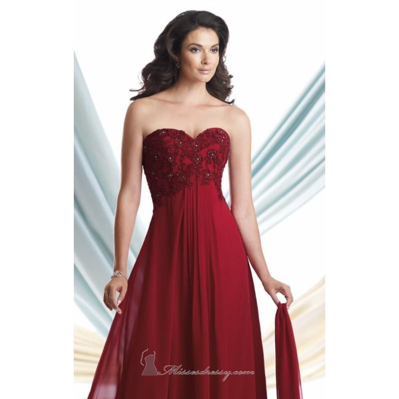 1040b45b980 Chiffon Dress by Mon Cheri Montage 113922 - Bonny Evening Dresses Online