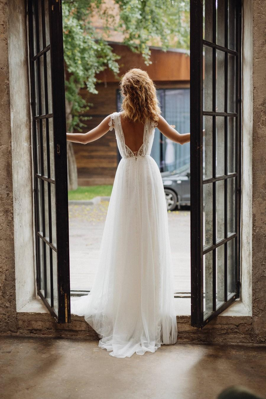 Wedding Dress Gwendoline Elegant Boho