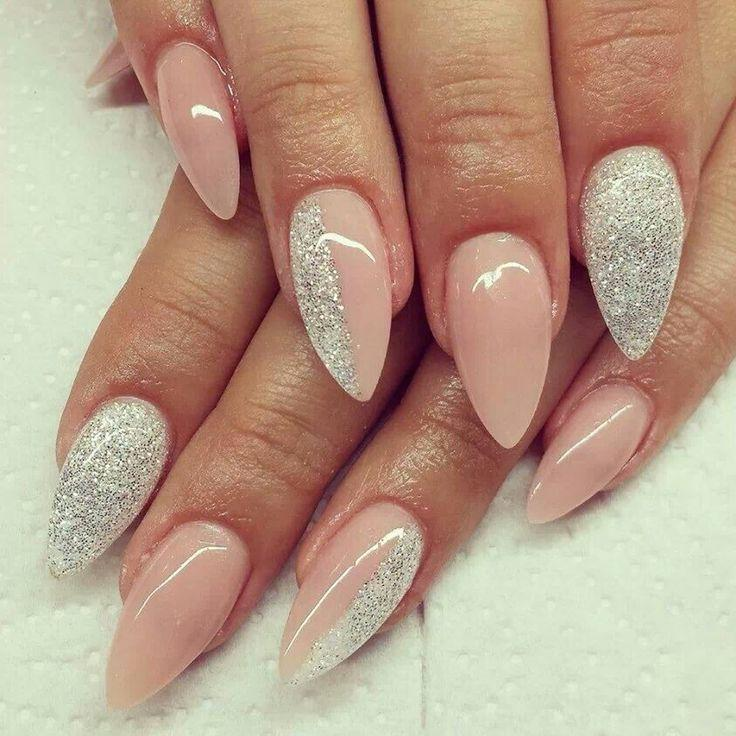 Wedding - Glittery Nude