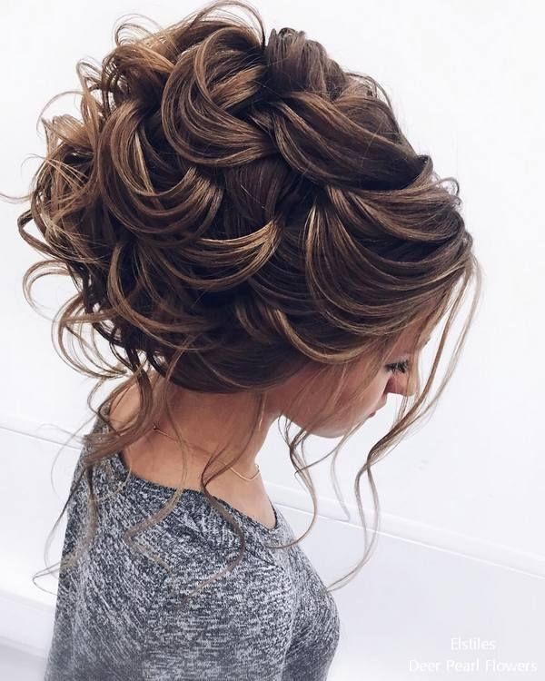 زفاف - 30 Elstile Long Wedding Hairstyles And Updos