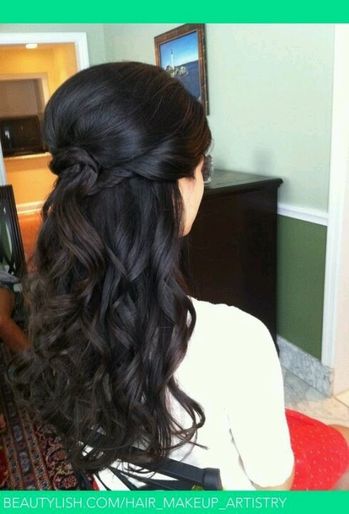 زفاف - 16 Overwhelming Half Up Half Down Wedding Hairstyles
